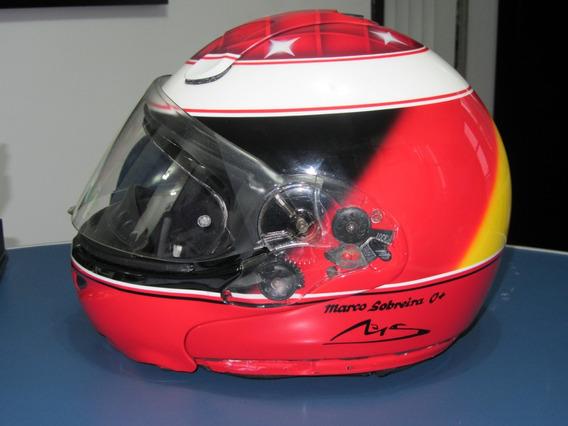 Capacete Michael Schumacher - Nolan X-lite 1001 Elegance