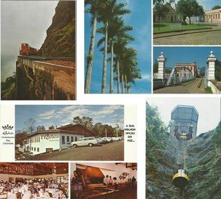 042 Ctp- Cartão Postal Brasil- Déc 70- Paraná Pr- Lote Com 4