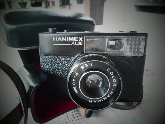 Câmera Hanimex Al35 / Germany Para Decoração Ou Conserto