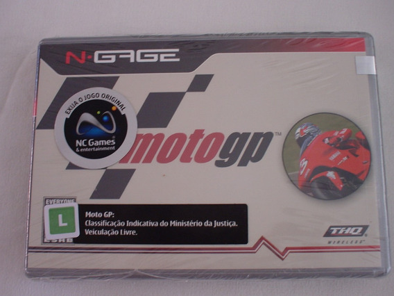 Nokia N-cage Moto Gp Lacrado C/ Manual Em Português