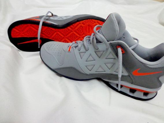 Tênis Nike Reax Tr 6 Tam 40 Laranja Cinza Original Pronta En