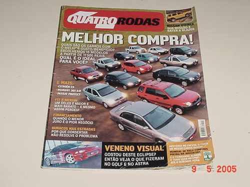 * Quatro Rodas - Junho 2003 - Melhor Compra! *