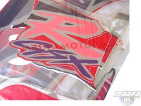 Kit Adesivo Gsx1100 Ano 95 Vermelho