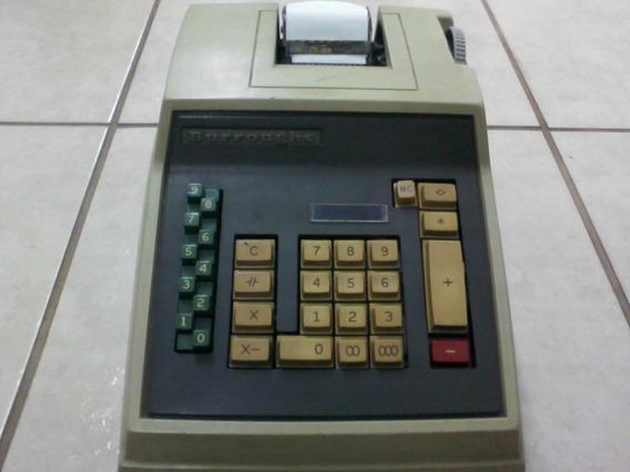 Calculadora Burroughs Antiga E Funcionando