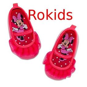 Sapato Minnie Importado Disney 18 A 24 Meses Tam 19