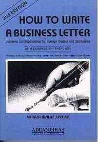 How To Write A Business Letter - Mariza Kindlé Speller