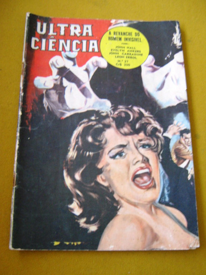 Ediex Editormex Ultra Ciencia 27 Carradine Elvis Terror