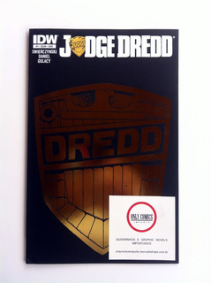 Judge Dredd #1 - Variant Cover (2012) Idw