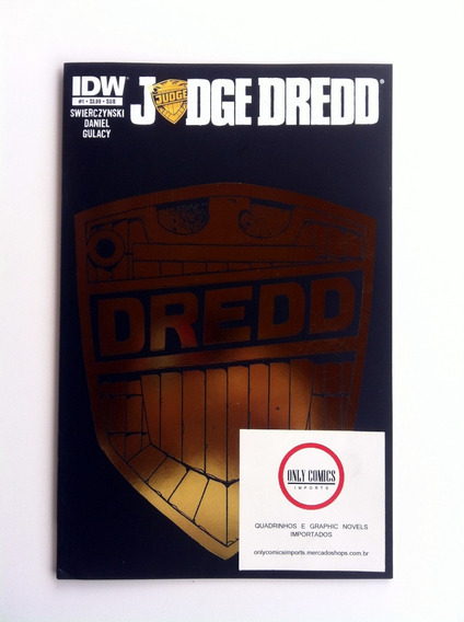 Judge Dredd #1 - Variant Cover (2012) Idw