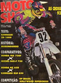 Motoshow N°115 Kawasaki Zg 1000 Honda Cbx 750f Gsx-f 750 Nx
