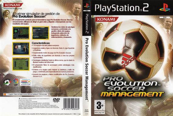 Pes Pro Evolution Soccer Manager Playstation 2