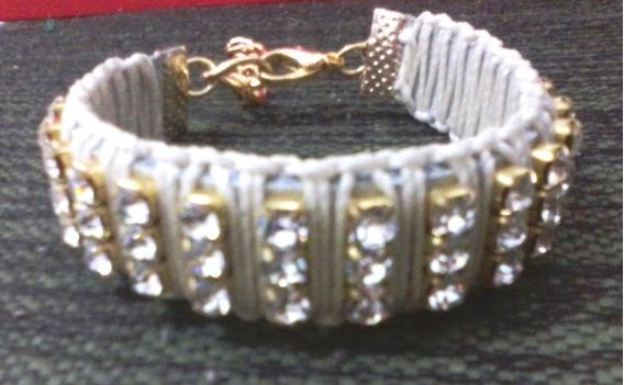 Pulseira / Bracelete De Strass...um Luxo !!!