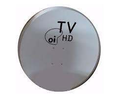1 Antena Banda Ku 60 Cm C/ Logo Oitv