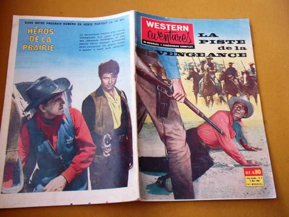 Ediex Internacional Western Aventura 1962 Faroeste