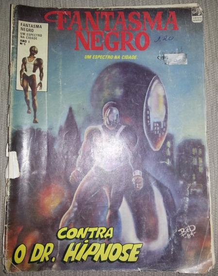 Gibi Fantasma Negro Ano 1 Nº 1 Editora Talamus 1984