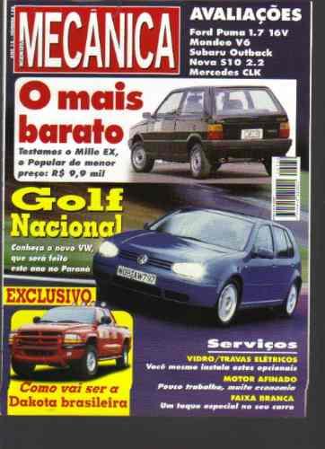 Revista Oficina Mecânica Nº 136 -ano12-golf Nacional-sisal