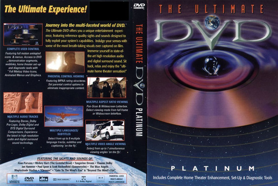 Dvd The Ultimate Platinum Dts Dolby Testes (lacrado)