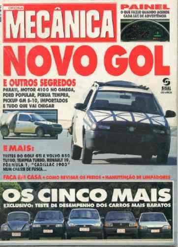 Oficina Mecânica Nº92 Fusca Golf Gti Tempra Turbo Volvo 850