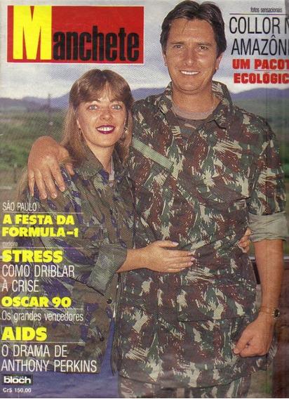 Revista Manchete Nº 1981-rio De Janeiro, 07 De Abril De 1990