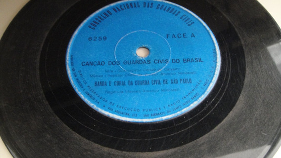 Disco Compacto Simples-banda E Coral Guarda Civil Sp