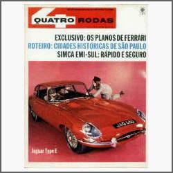 Quatro Rodas Nº 73 - Simca Emi Sul - Automobilismo - 1966