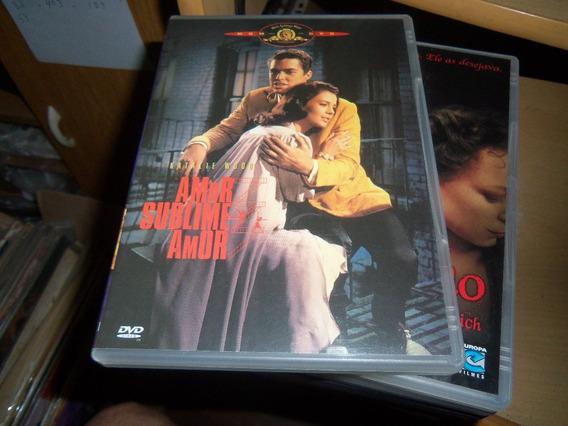Dvd Amor Sublime Amor N. Wood - Ref Est H