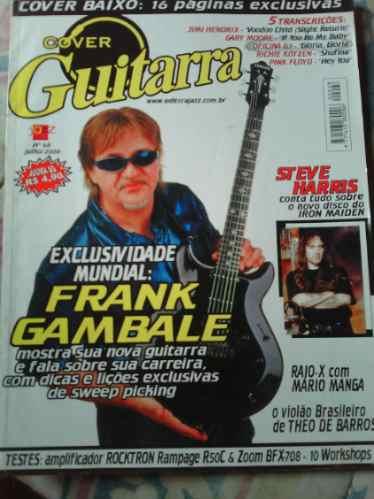 Revista Cover Guitarra Nº68 Ano 6 Julho 2000 Allloja