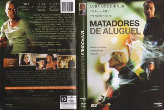 Dvd Matadores De Aluguel, Ação, Original, Cuba Gooding Jr.