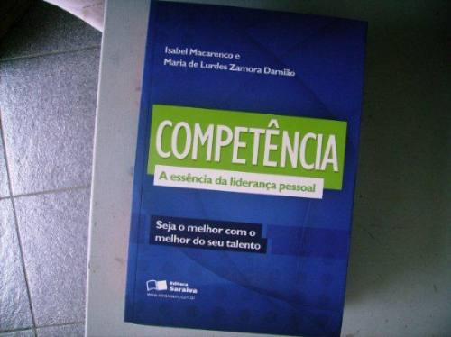 * Livro Competência Essencia Da Liderança Pessoal Isabel