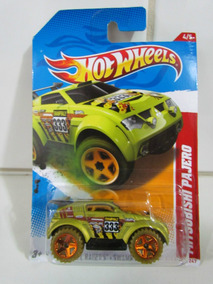 Hot Wheels Thrill Racers - Swampy Rally12- Mitsubishi Pajero