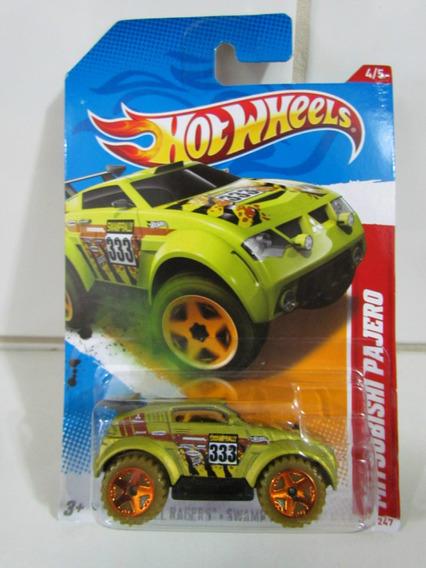 Hot Wheels Thrill Racers - Swampy Rally12- Mitsubishi Pajero