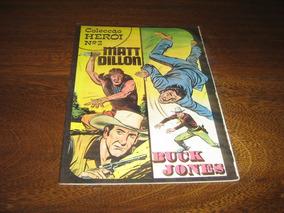 Coleção Herói Nº 2 Com Matt Dillon E Buck Jones Ano: 1975