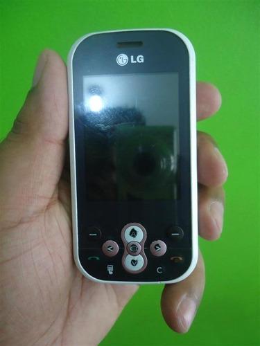 Imagem 1 de 4 de LG Gt360 Branco/rosa Desbloqueado Apenas 129,00