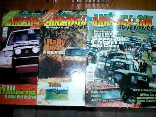 Revista America Do Sul Adventure Rally Trilha 4x4 Jeep Cross