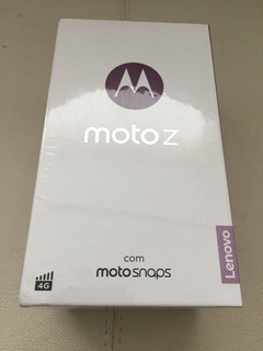 Moto Z Power Edition 64g Preto E Grafite Nota