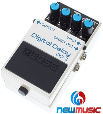 Pedal Boss Guitarra Dd-3 Digital Delay #1070