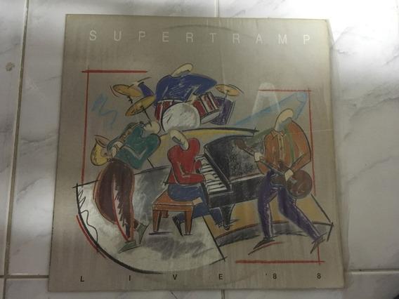 Lp Supertramp 1988 Live 88