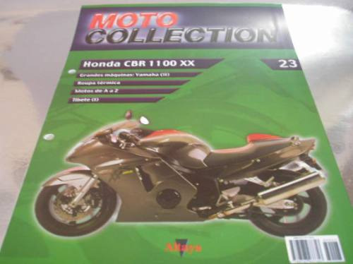 ( L - 170 ) Catálogo N. 23 Motocicleta Honda Cbr 1100 Xx