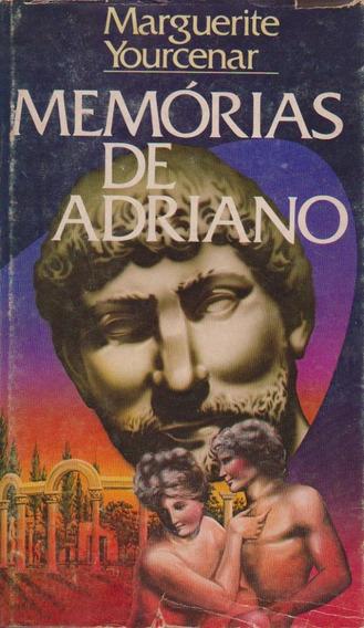 Memórias De Adriano - Marguerite Yourcenar / Livro Capa Dura