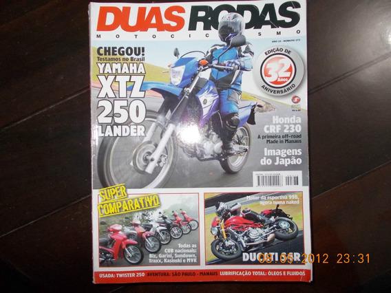Duas Rodas - Yamara Xtz 250 Lander/ Ducati S4r/ Traxx/ Mvk