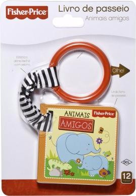 Livro De Passeio Fisher Price - Animais Amigos