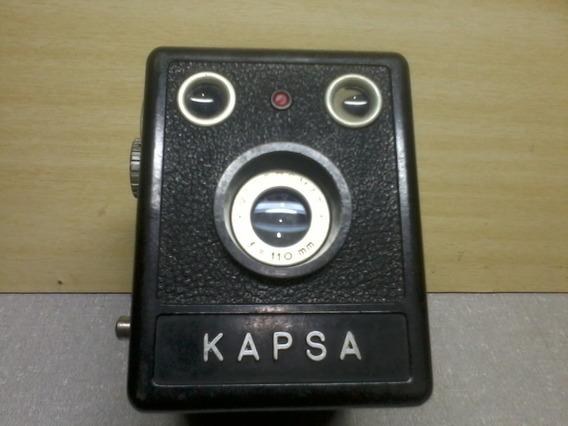 Antiga Camera Fotografica Kapsa Ótimo Estado