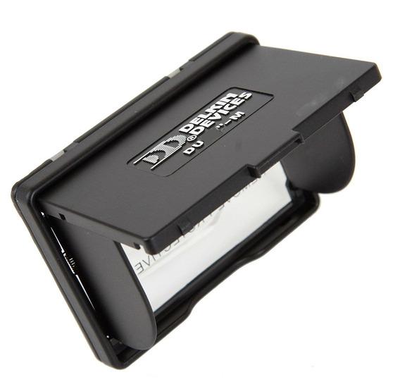 Parasol Visor Lcd Canon Nikon Delkin Pop-up Shade 2.7 E 2.8