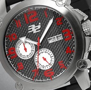 32 Degrees Gents - Swiss Automático - Watch Date - Novo
