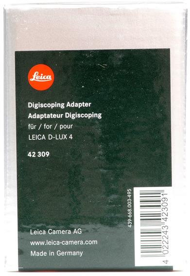 Adaptador Digiscoping Para Leica Dlux4 - 42309