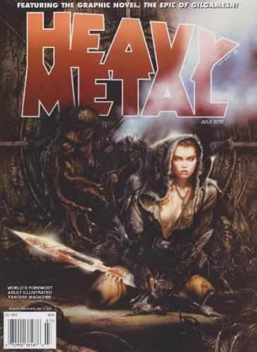Heavy Metal Magazine July 2010 Importada Bonellihq Cx108 I19