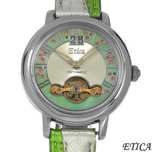 Etica Au9166 Lady Automatic Watch Skeleton Invicta Esqueleto