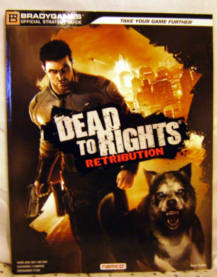 Revista Bradygames - Detonado Dead To Rights Retribution
