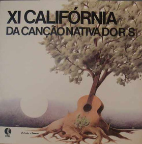 Califórnia Da Canção Nativa Do Rs ( 11a.) - Lp 1981