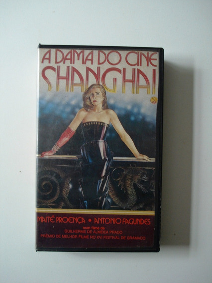A Dama Do Cine Changhai Vhs*